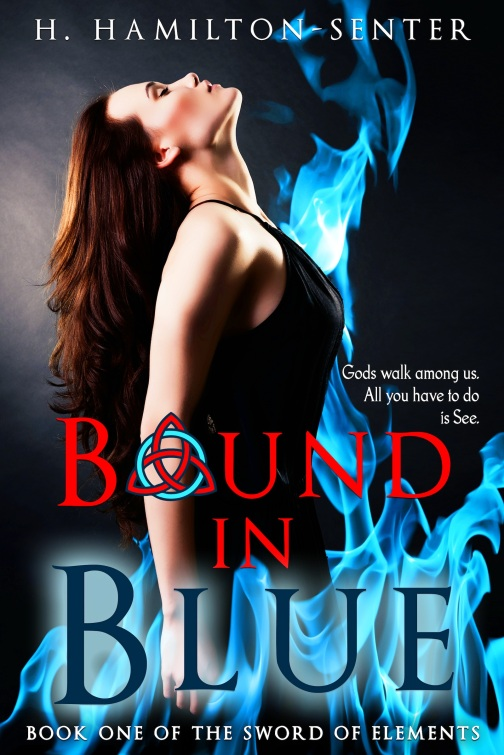 Bound In Blue by Heather Hamilton-Senter
